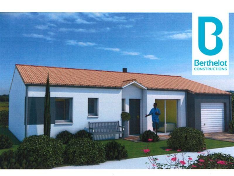 Maison  4 pièces + Terrain 388 m² Getigne par BERTHELOT CONSTRUCTIONS