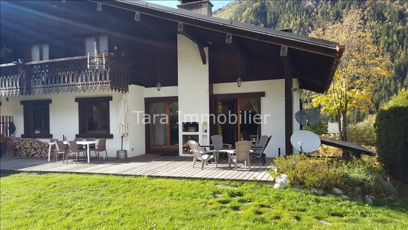 Vente de prestige appartement Les houches 795 000€ - Photo 2