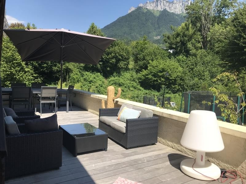 Vente de prestige appartement Menthon st bernard 812 000€ - Photo 1