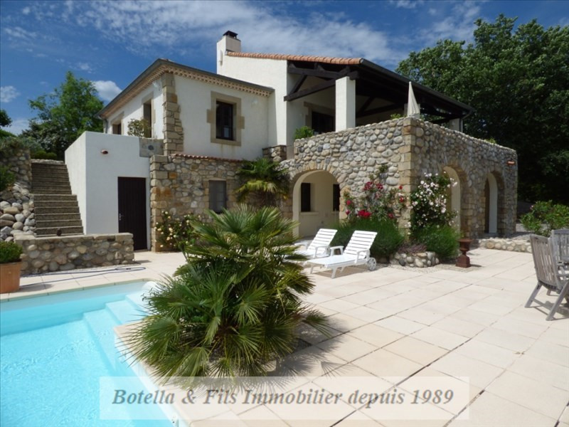 Vente de prestige maison / villa Ruoms 525 000€ - Photo 6