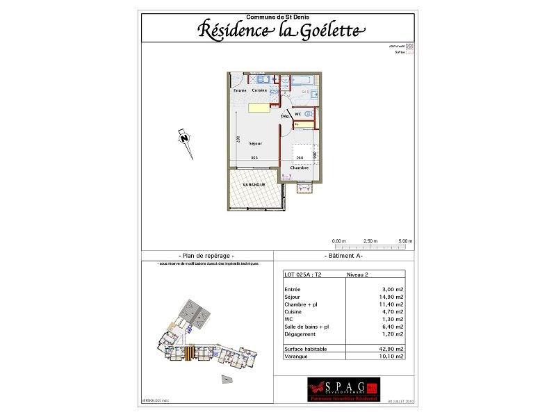 Location appartement St denis 565€ CC - Photo 5