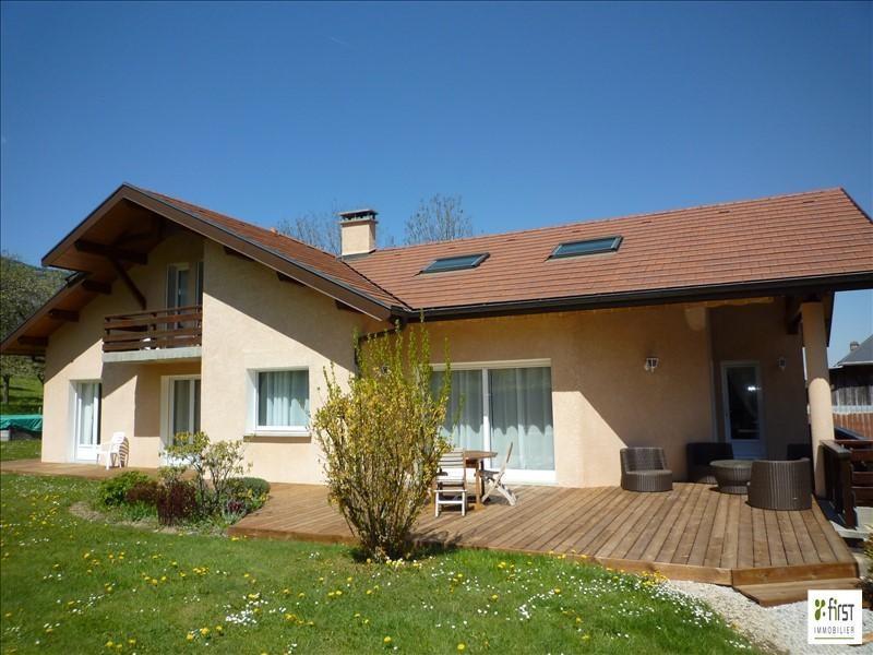 Venta de prestigio  casa Saint jorioz 595000€ - Fotografía 1