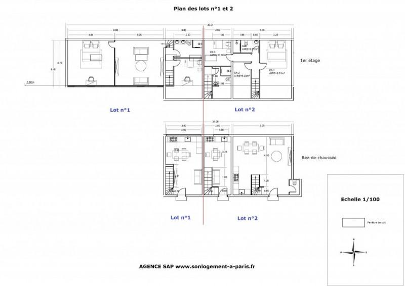 Sale apartment Aubervilliers 314000€ - Picture 3