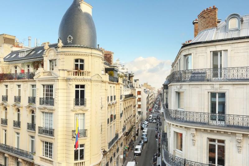 Vente de prestige appartement Paris 8ème 465000€ - Photo 2