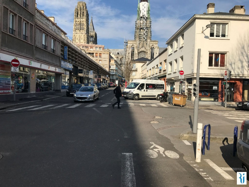 Affitto locale Rouen 944€ CC - Fotografia 4