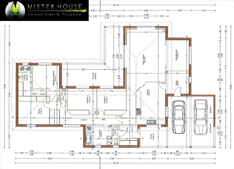 Sale house / villa Montauban 440000€ - Picture 2