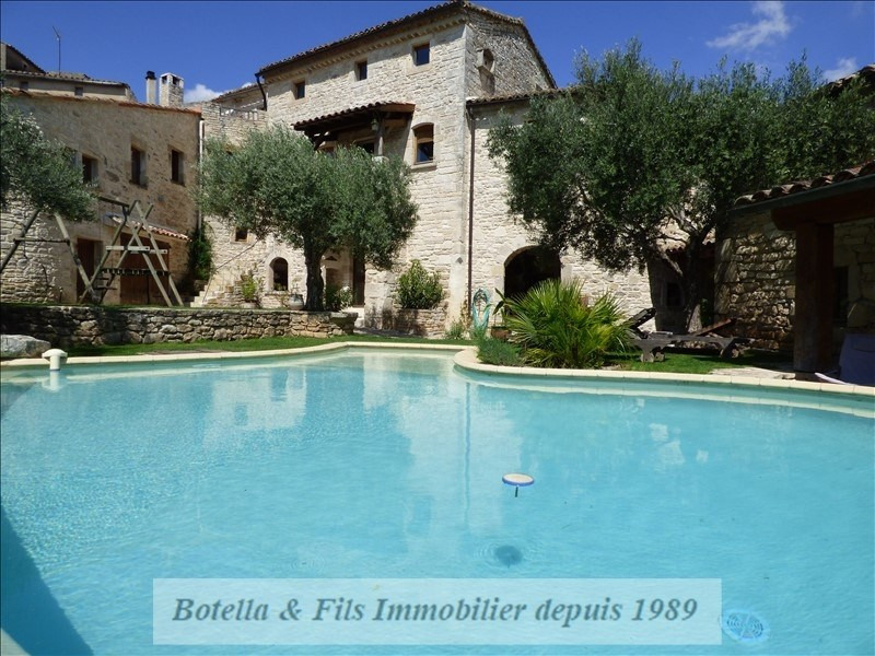 Deluxe sale house / villa Barjac 489500€ - Picture 10