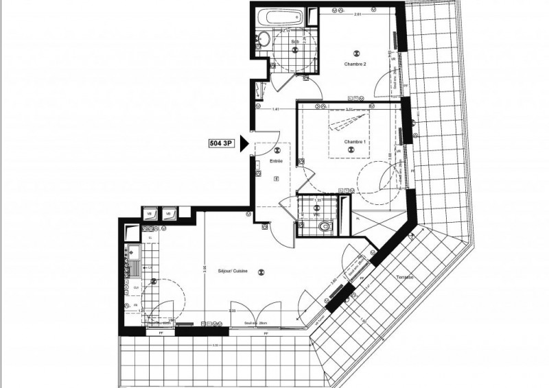Vente appartement Issy-les-moulineaux 727500€ - Photo 1