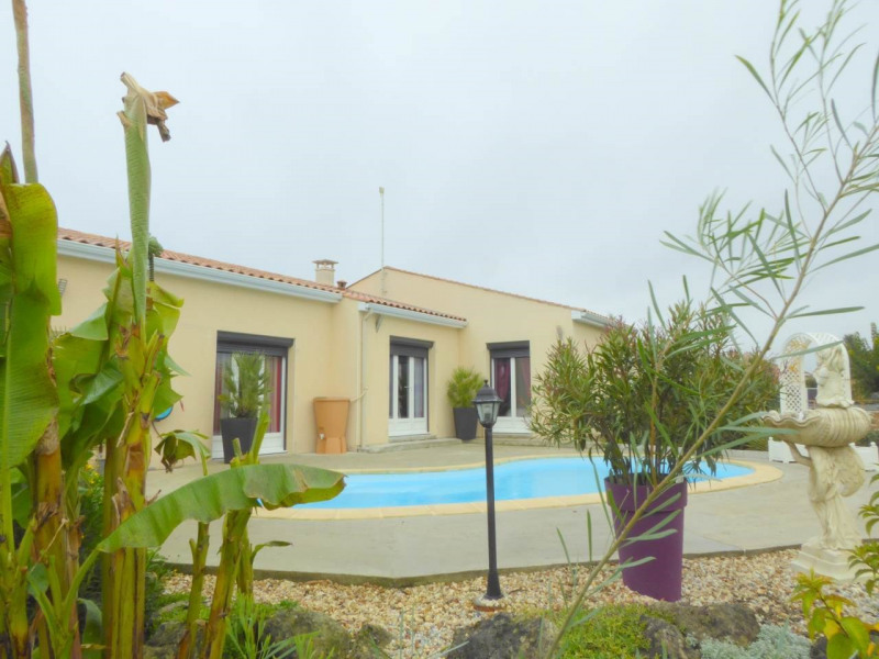 Vente maison / villa Merpins 210000€ - Photo 2