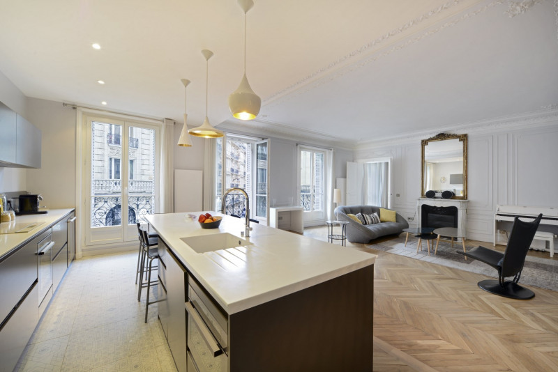 Verkoop van prestige  appartement Paris 9ème 1720000€ - Foto 3