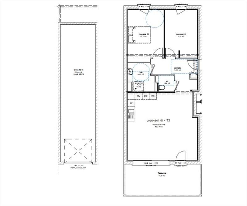 Sale apartment Montelimar 202560€ - Picture 3