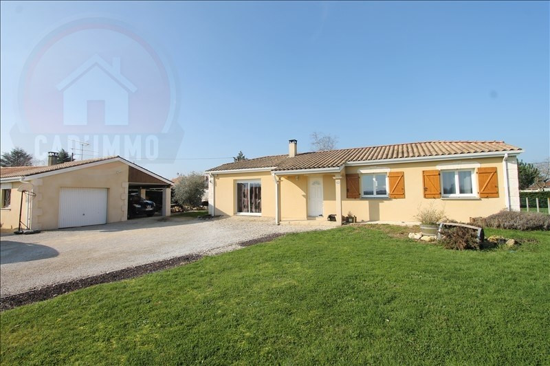 Vente maison / villa Lamonzie st martin 191000€ - Photo 1