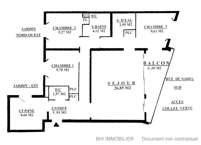 Vendita appartamento Paris 12ème 651000€ - Fotografia 9