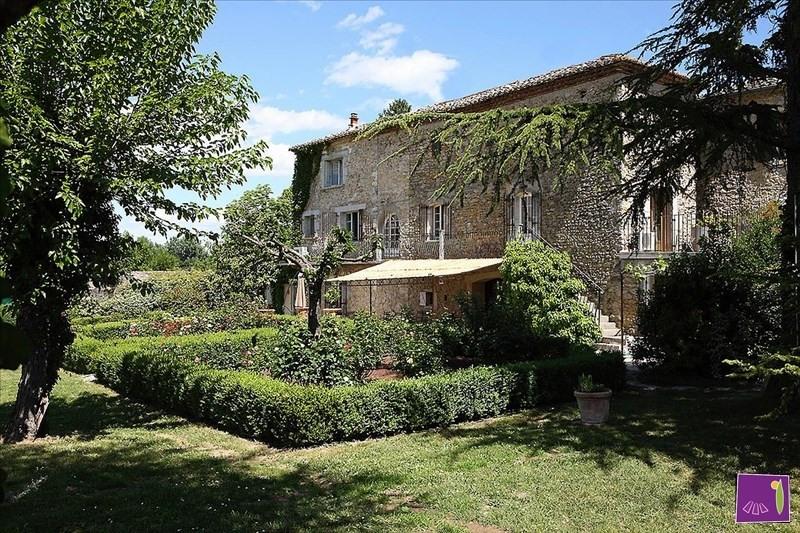Venta de prestigio  casa Barjac 525000€ - Fotografía 9