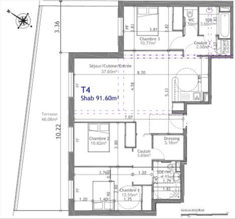 Vente appartement Gentilly 584729€ - Photo 3