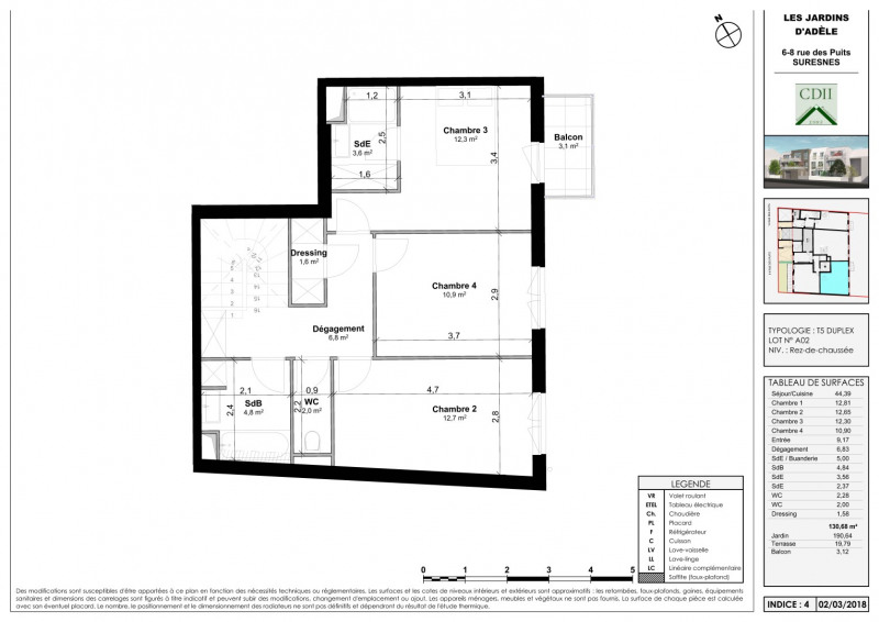 Sale apartment Suresnes 1080000€ - Picture 3