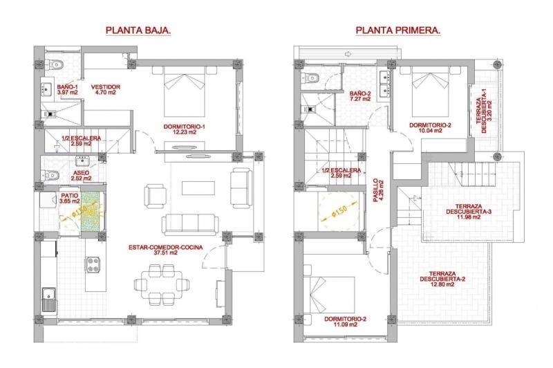 Venta  casa Province d'alicante 243500€ - Fotografía 12