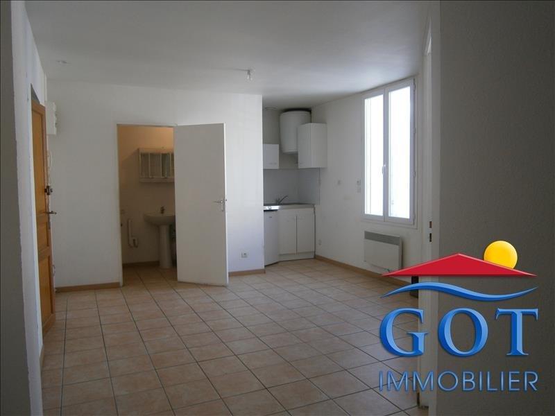 Locação apartamento St laurent de la salanque 430€ CC - Fotografia 1