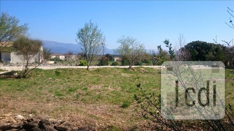 Vente terrain Salles-sous-bois 90000€ - Photo 1