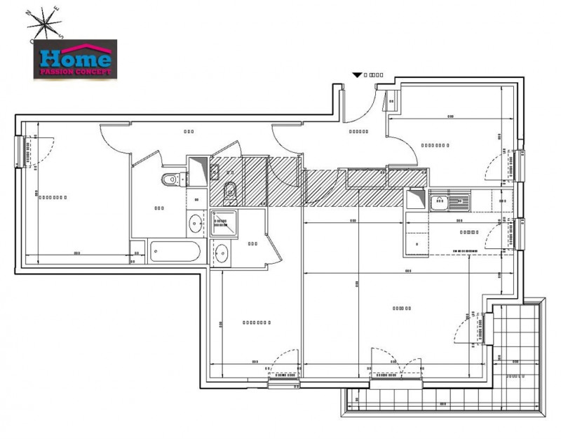 Sale apartment Rueil malmaison 608000€ - Picture 2