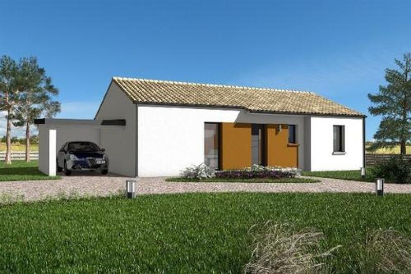 Maison  4 pièces + Terrain 410 m² Landevieille par maisons PRIMEA