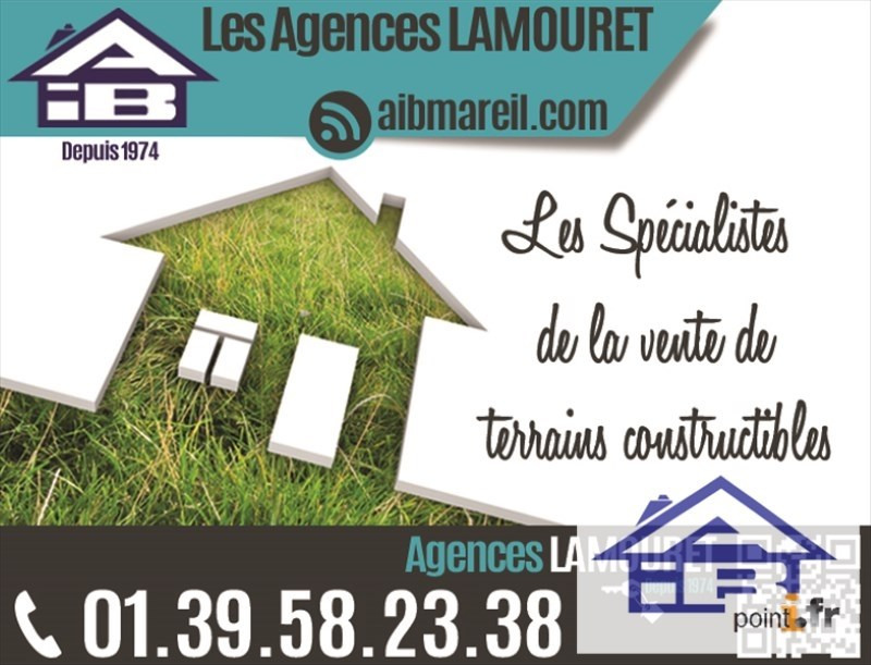 Vente terrain Saint nom la breteche 567 000€ - Photo 1