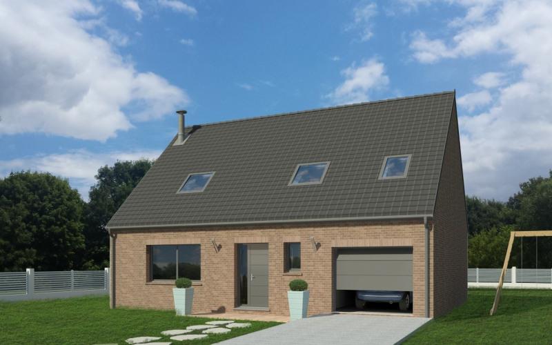 Maison  5 pièces + Terrain 428 m² Genech par MAISON FAMILIALE - Lille