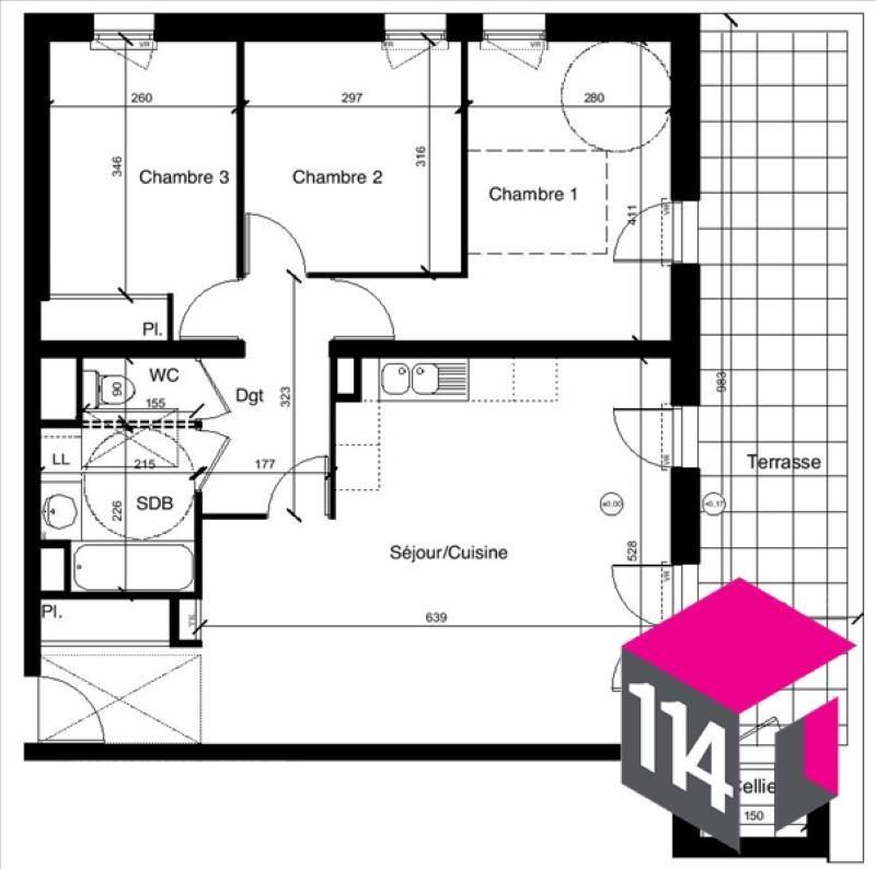 Sale apartment St bres 246900€ - Picture 4