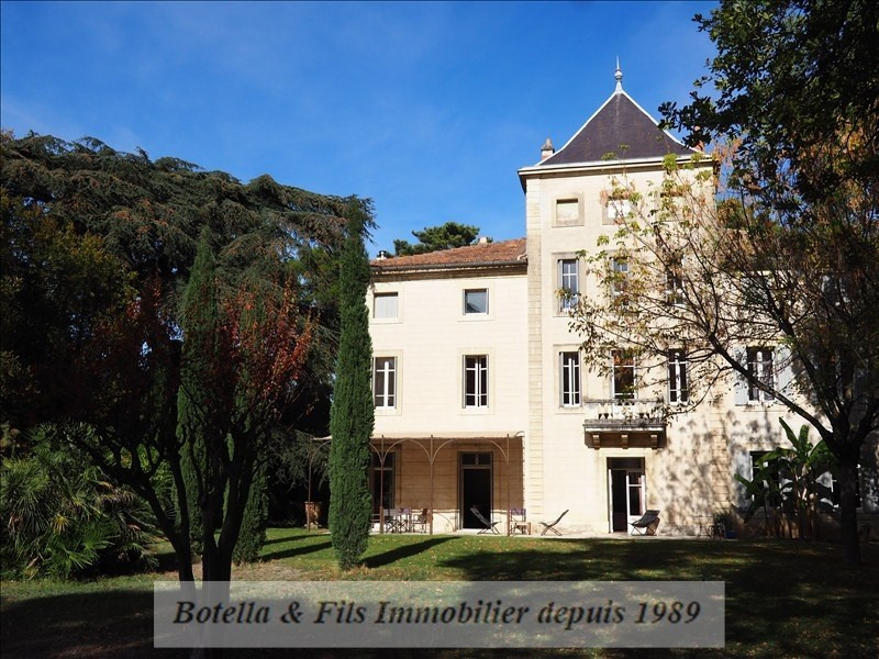Deluxe sale chateau Uzes 889 000€ - Picture 2