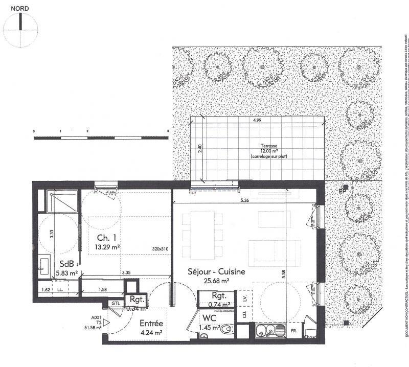 Sale apartment Genas 231504€ - Picture 3