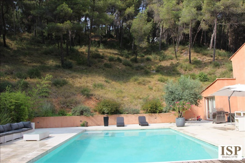 Vente de prestige maison / villa Les milles 750000€ - Photo 1