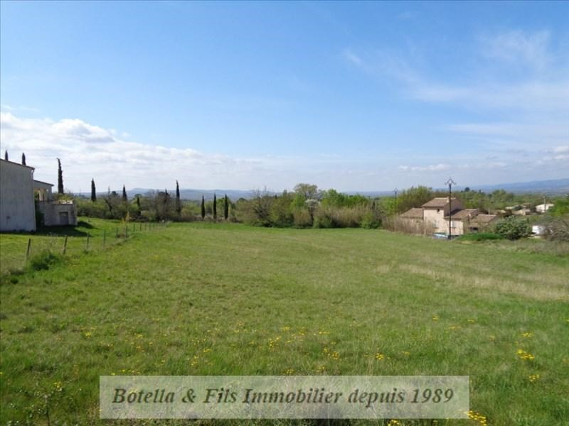 Vente terrain Barjac 79 000€ - Photo 1