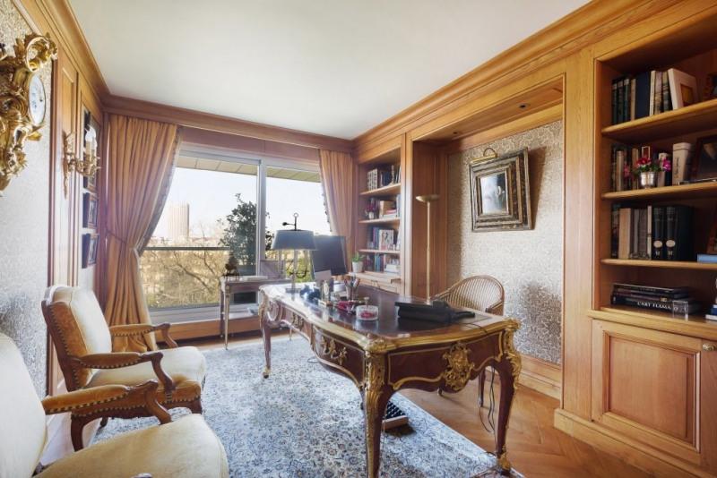Revenda residencial de prestígio apartamento Paris 16ème 3450000€ - Fotografia 6