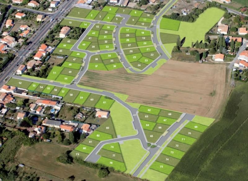 Vente terrain Rochefort 35000€ - Photo 1