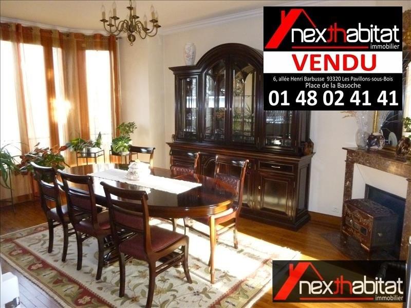 Vente maison / villa Les pavillons sous bois 478000€ - Photo 2