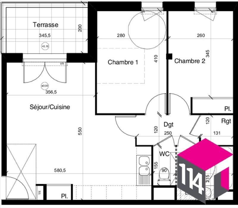 Sale apartment St bres 199400€ - Picture 5