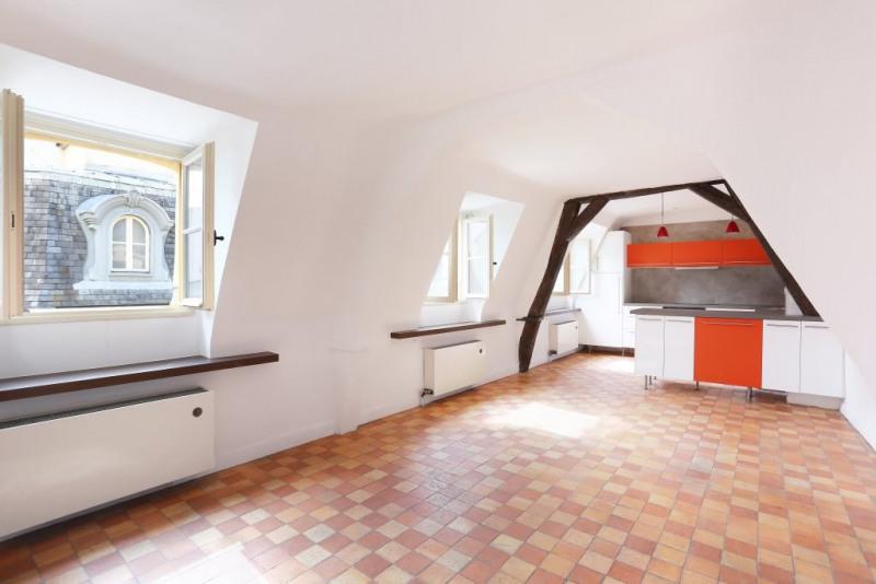 Vente de prestige appartement Paris 4ème 777000€ - Photo 2