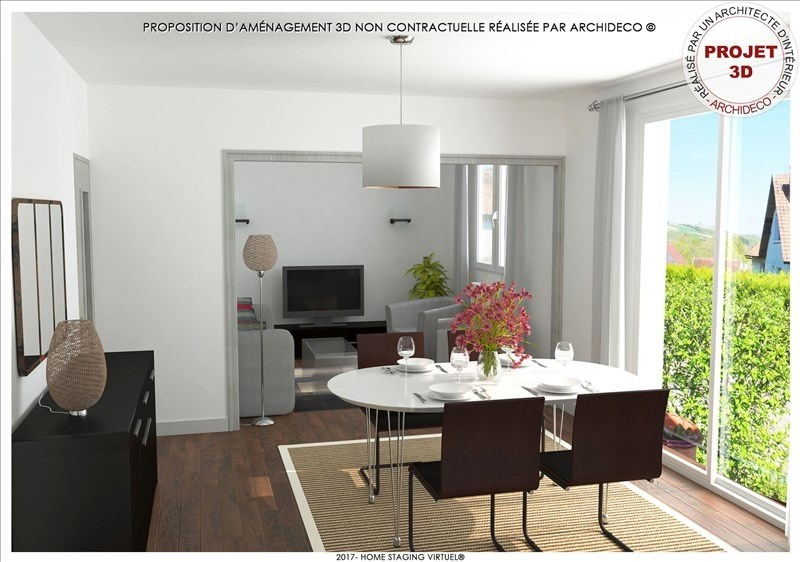 Vente maison / villa Escolives ste camille 153000€ - Photo 2