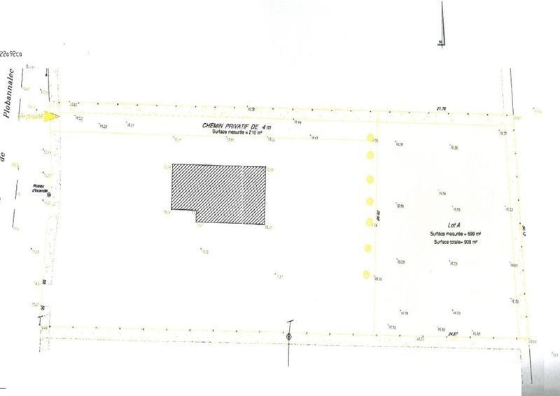Sale site Pont l abbe 49000€ - Picture 5