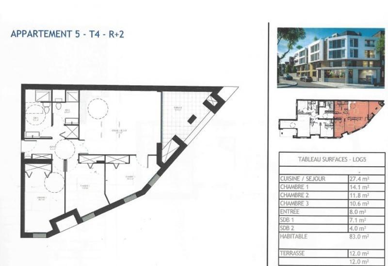Vente de prestige appartement Antony 460000€ - Photo 2