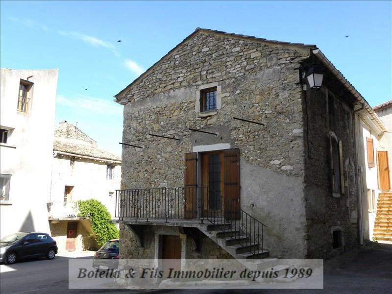 Vente maison / villa Goudargues 133000€ - Photo 1
