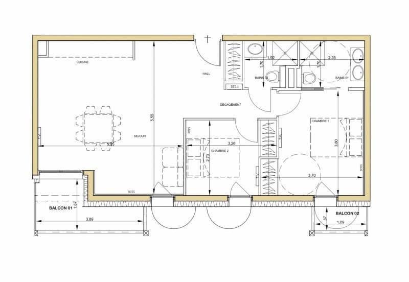 Deluxe sale apartment Chamonix mont blanc 595000€ - Picture 5