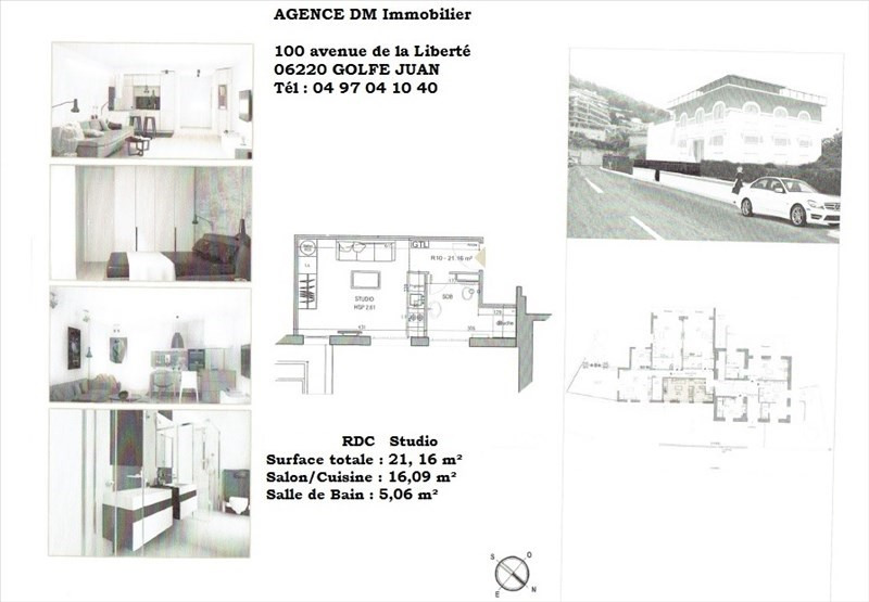 Sale apartment Nice 131 500€ - Picture 1