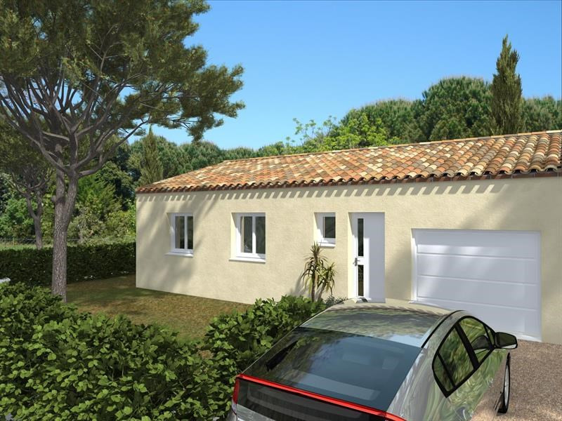 Maison  4 pièces + Terrain 400 m² Nissan-Lez-Enserune par Domitia Construction