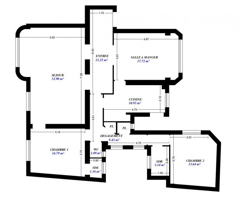 Location appartement Paris 4ème 3746€ CC - Photo 10