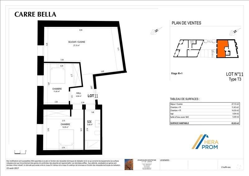 Sale apartment Montpellier 174800€ - Picture 3