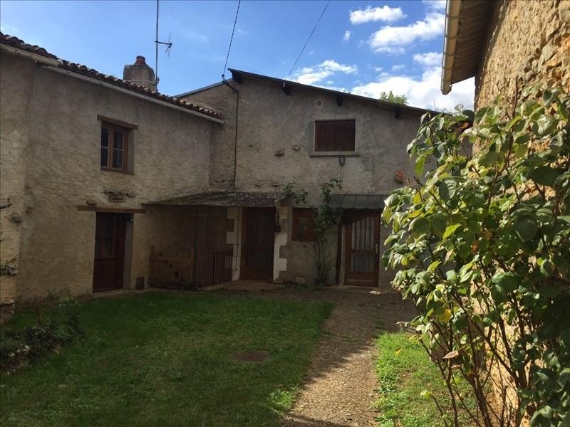 Vente maison / villa Aslonnes 87000€ - Photo 1