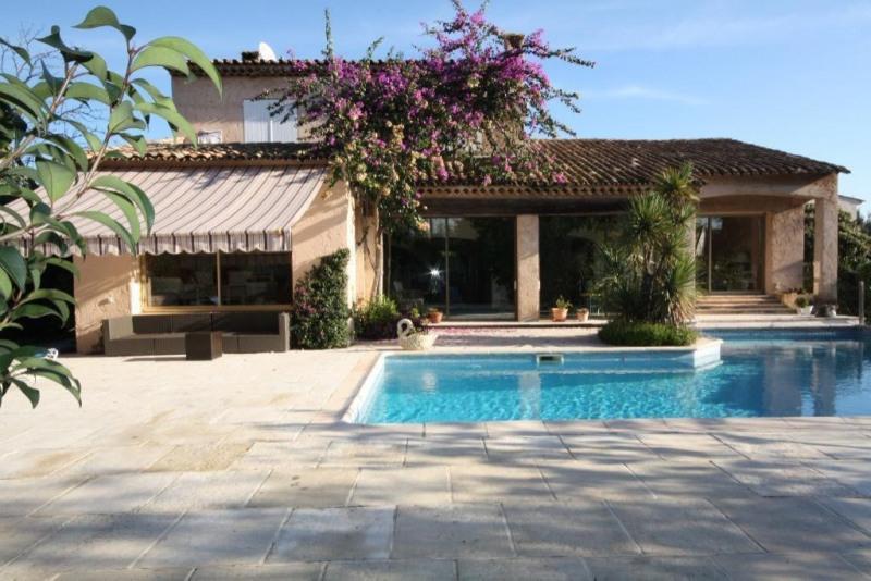 Vente de prestige maison / villa Juan les pins 1890000€ - Photo 1
