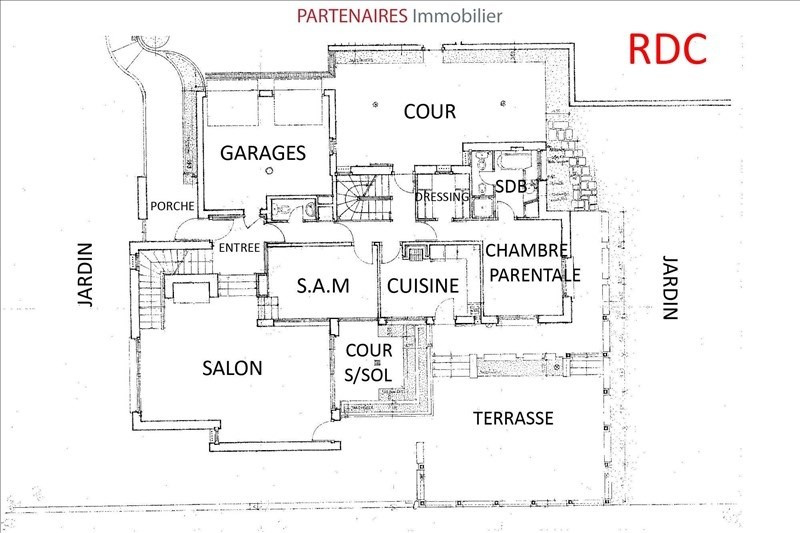 Deluxe sale house / villa Le chesnay 1 340 000€ - Picture 8