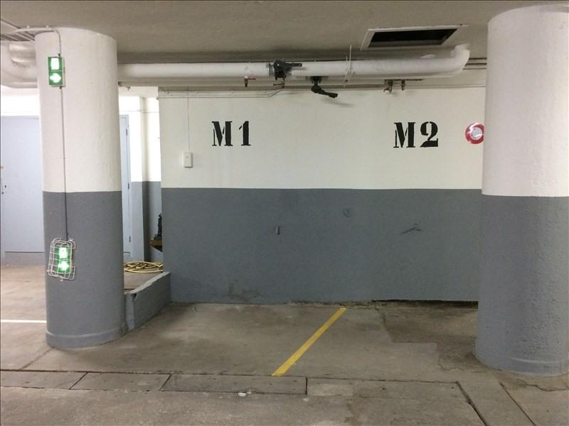 Rental parking spaces Paris 16ème 100€ CC - Picture 1